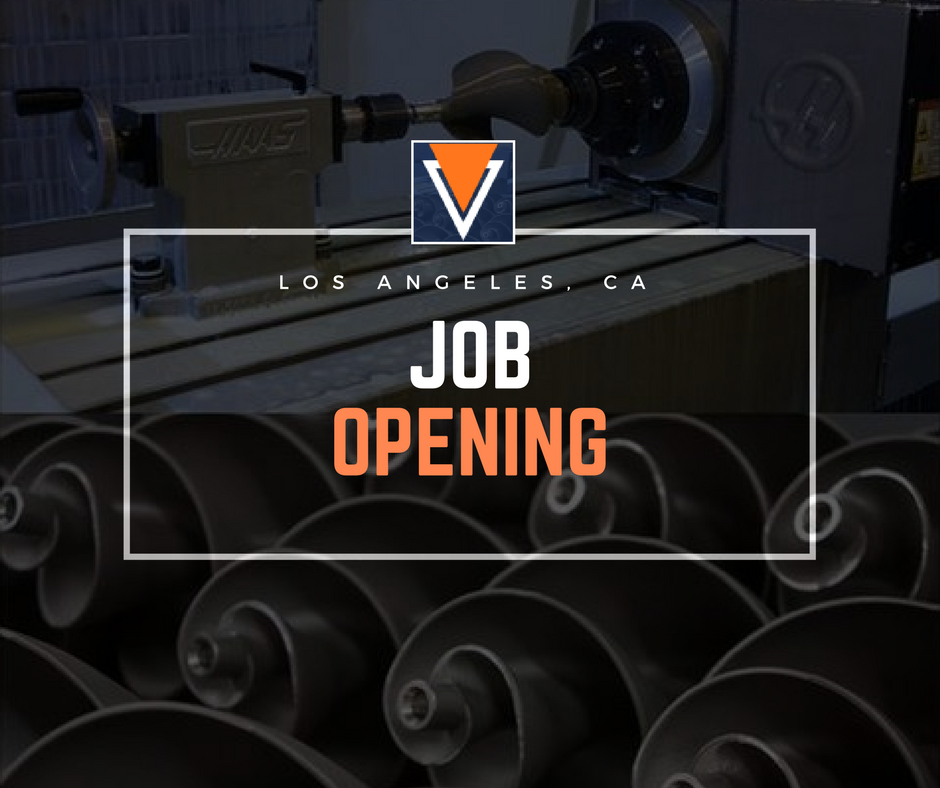 Job Opening CMM Inspector Machine Shop
