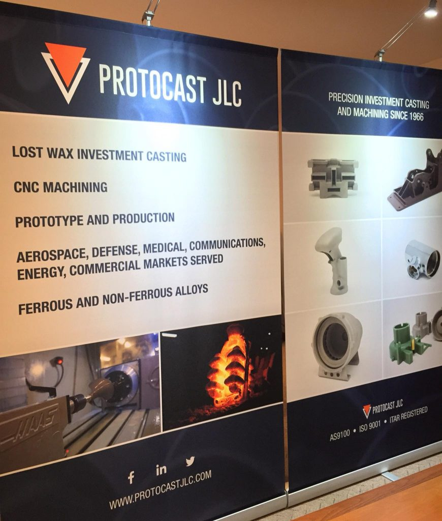 Protocast JLC Tradeshow Booth Pacific Design and Manufacturing Industrial Show